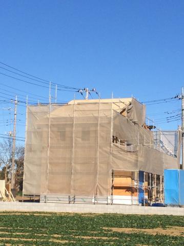 上尾市Y様邸 施工中の様子