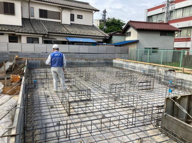 清瀬市UE様邸 施工中の様子